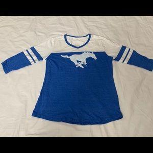 Tops - SMU Mustang  Shirt NWOT